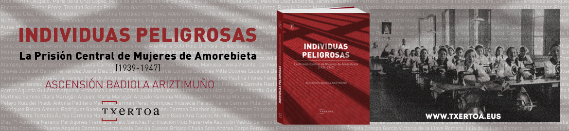 Ascension  Badiola  –  Individuas  peligrosas